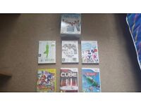 Nintendo Wii Console, Wii Fit Plus incl Balance Board, We Sing Two Mic Pack and Games