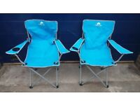 Pair Of Ozark Trail Camping Chairs