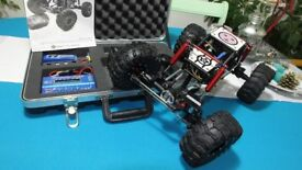 RTR 1/10 Gmade R1 Rock Crawler with Lipo Battery and Charger.