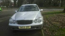 53 plate Mercedes benz diesel automatic saloon.