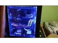 I7 6700k Gaming PC watercooled Computer , GTX MSI 1070 , SSD 512gb + 256 m.2 LOADS OF FREE STUFF