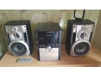 Panasonic Hifi. 660w.5disc ,usb ,woofer