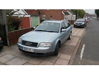 audi a6 1.9 tdi, one owner from new