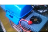 Lovely BBQ . Gas barbeque and hob cooker. Summer ready