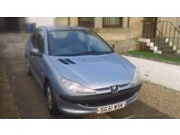 Peugeot 206 LOOK. Very clean, low mileage, never smoked-in. Ideal first car.