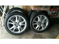 Porsche cayenne 20 inch alloy wheels and tyres