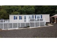 ATLAS SOLIATLAIRE CARAVAN 37X12 SITED AT LOCH EARN HOLIDAY PARK ST FILLANS PERTHSHIRE