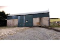 Shed to rent Hilltown