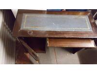 Antique desk table