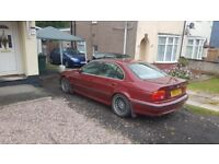 bmw e39 535i lpg spares or repair