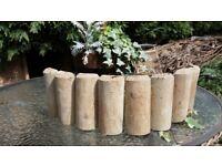 wooden log roll