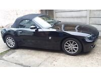 BMW Z4 Roadster 2.5i Auto, Semiauto, Serviced recently, new roof pump