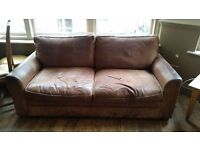 3 x Brown Sofas available for collection