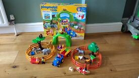 Playmobil 123 large zoo set