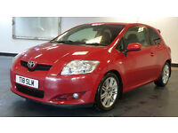 2008 08 TOYOTA AURIS,1.6 SR VALVEMATIC 3d 124 BHP **PART EX WELCOME**