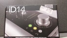 new audient id 14 usb interface