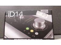 new audient id 14 usb interface