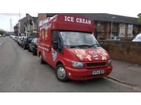 Ice cream van 2004 ready for work