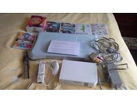 NINTENDO WII CONSOLE BUNDLE PLUS WII FIT BOARD AND GAMES