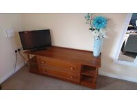 Pine Unit with 2 Drawers and shelves