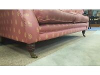 Vintage 2 seater Fabric Sofa in Great Condition