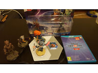 Disney Infinity 2.0 game, portal and characters WII U