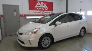 2012 Toyota PRIUS V+CUIR+TOIT PANORAMIQUE GRP. LUXE