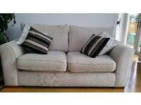 Ivory colour sofa bed