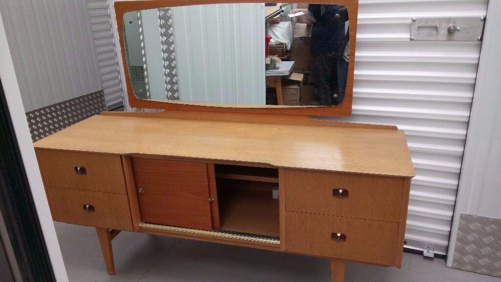 Vintage 1960s dressing table
