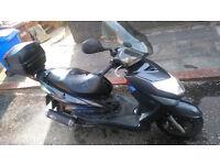 Yamaha Cygnus 125cc scooter