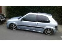saxo vtr 1.6 remapped very quick not ford Vauxhall