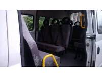 Double minibus /coach seats with incorperated seat belts