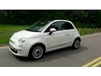 FIAT 500 1.2 LOUNGE 2009 23000 MILES ONLY WITH HISTORY