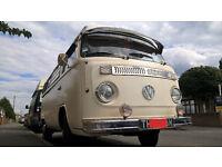 1973 Bay Window VW Westfalia Camper Van, M plate, TAX EXEMPT