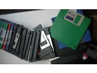 100+ NEW & RECYCLED COMPUTER FLOPPY DISKS