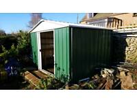 Metal Shed 7ft 3inch x 9ft 4 inch (now dismantled)
