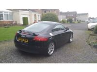 Audi TT 2.0 TFSI black leather, good condition, heated seats, service history, reluctant sale £8800