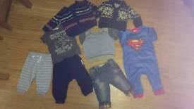 Baby boy clothes bundle size 6-9 months