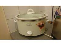 Rival Stoneware Crockpot / Slow Cooker