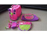 Trunki Trixie (pink) & 3 accessories