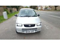 SUZUKI ALTO 1.1 GL 5dr, AUTOMATIC,LONG MOT,VERY LOW MILEAGE,GOOD DRIVE, FULL VOSA MILEAGE HISTORY