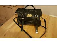 Authentic Mulberry oversized alexa black