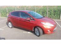 2009(09)FORD FIESTA 1.6 TDCi TITANIUM MET RED,BIG SPEC,BIG MPG,£20 TAX,CLEAN CAR,GREAT VALUE