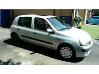 Renault Clio 1.2L Silver 5DR 2002