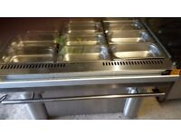 For Sale Bain Marie with Display Unit and one without Display Unit