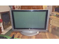 LG 42PC1DA LCD TV. GOOD CONDITION . FREE VIEW BUILD IN