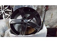 Vw golf r cadiz style alloy wheels r20 mk7 r vw vaddy golf gti 5112 vag alloys new BARGAIN