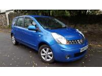 2007 57 Nissan Note 1.4 16v LOW TAX brand new mot Aux Connection