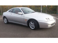 2003(53)ALFA ROMEO GTV 2.0 JTS LUSSO MET SILVER,RED LEATHER,FSH,FACELIFT MODEL,GREAT VALUE