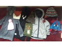 Kids Hats Scarf Winter Coats Jackets peppa pig george wild side babyGap mantaray originals m&s lot